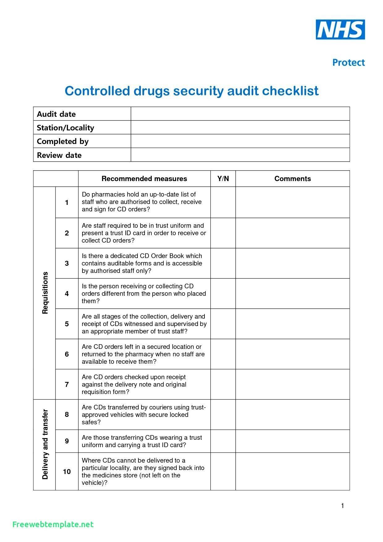 Qms Audit Report Format