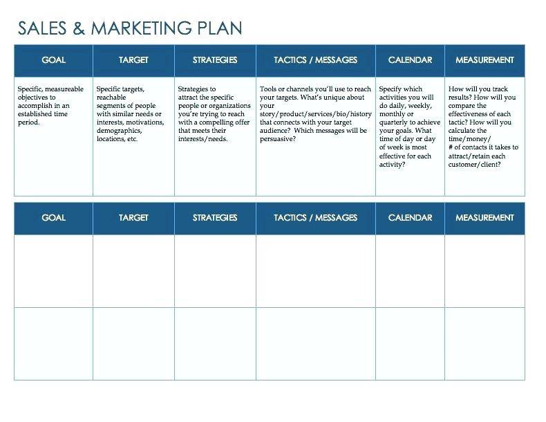 Quarterly Marketing Plan Template