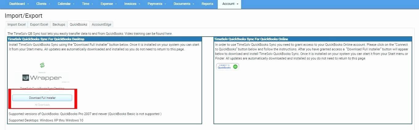 Quickbooks Invoice Template Gallery
