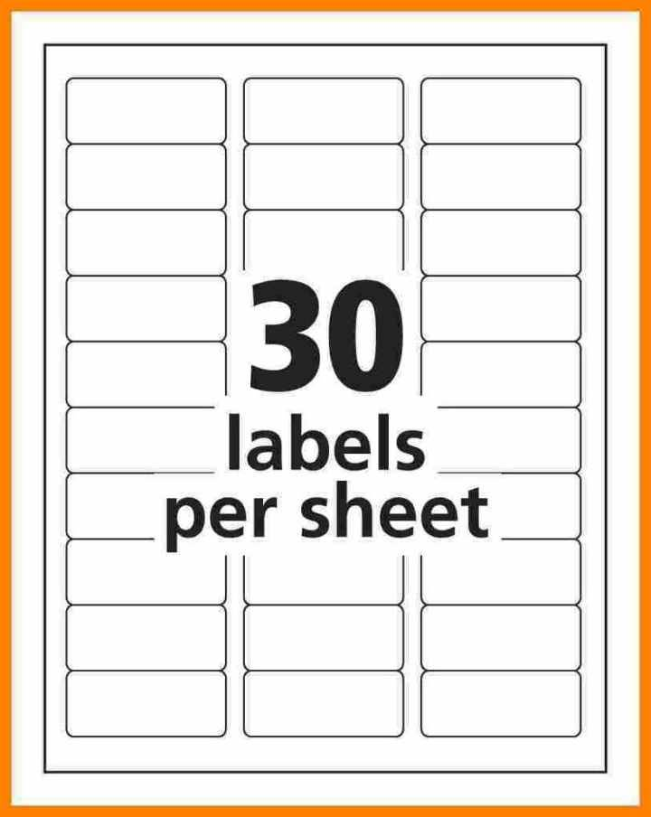 Quill Inkjet Label Templates