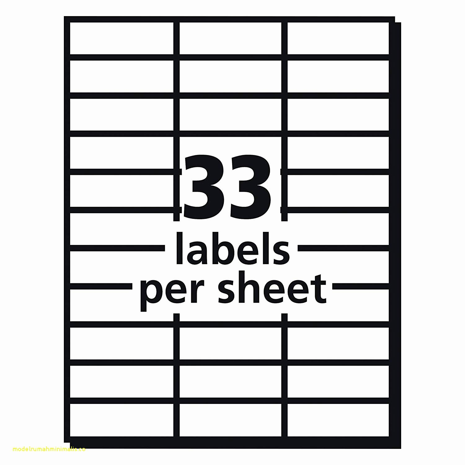 Quill Inkjet Labels Template