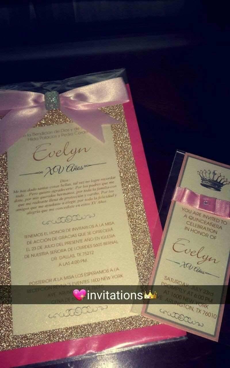 Quinceanera Invitation Maker