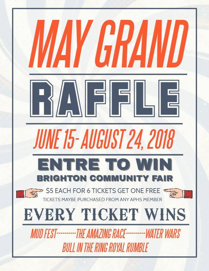 Raffle Event Flyer Template