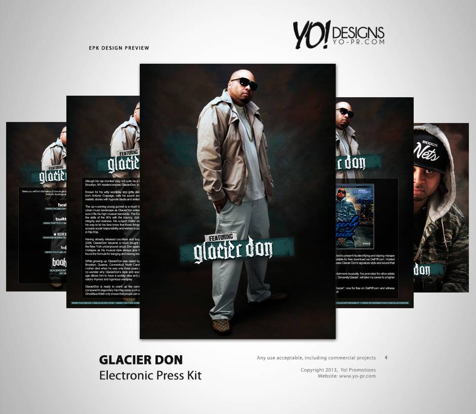 Rap Artist Press Kit Template