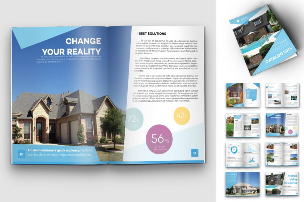 Real Estate Brochure Format