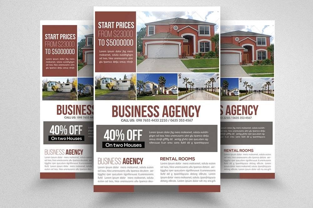 Real Estate Brochure Template Pack