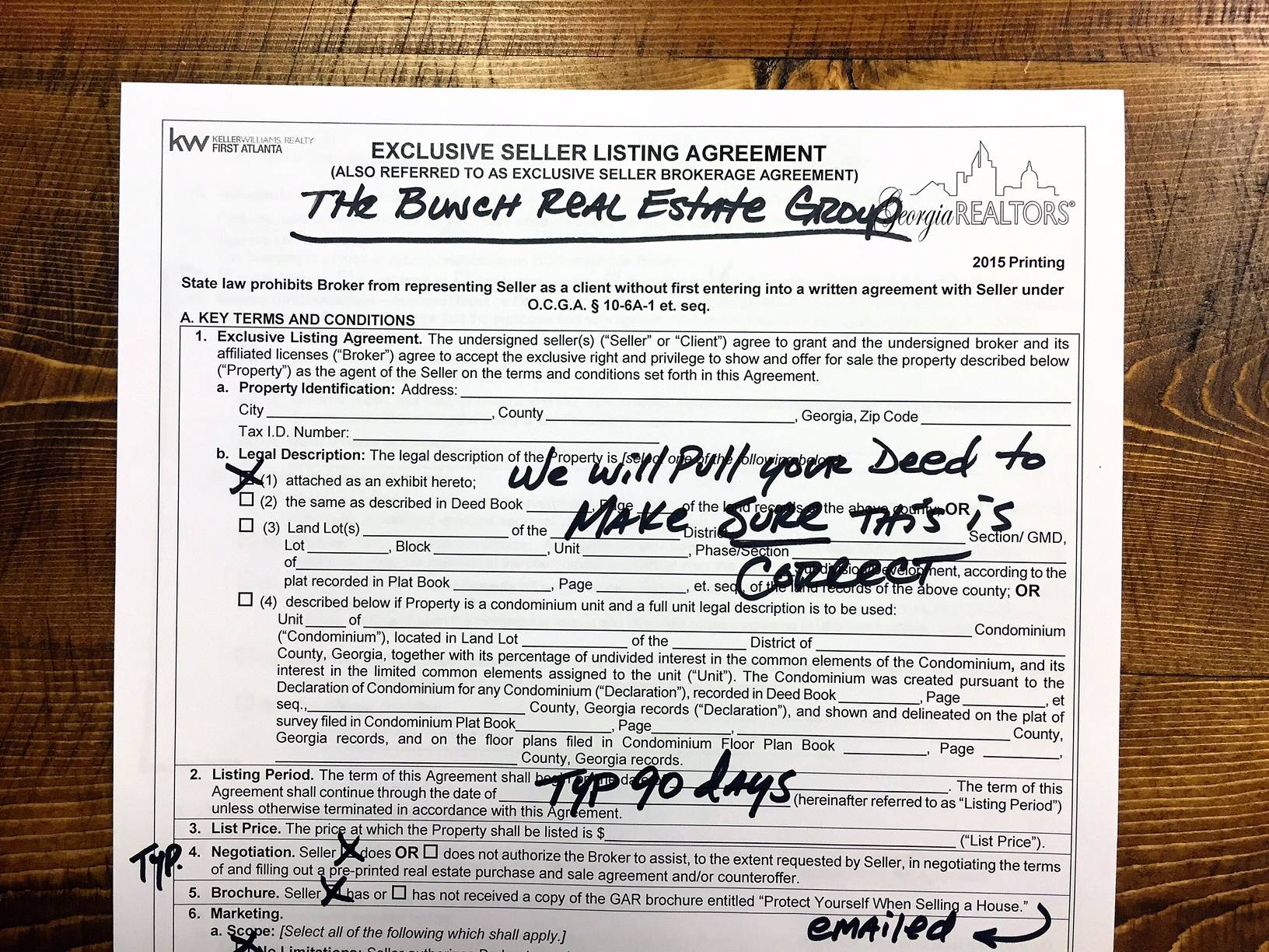 Real Estate Contract Forms