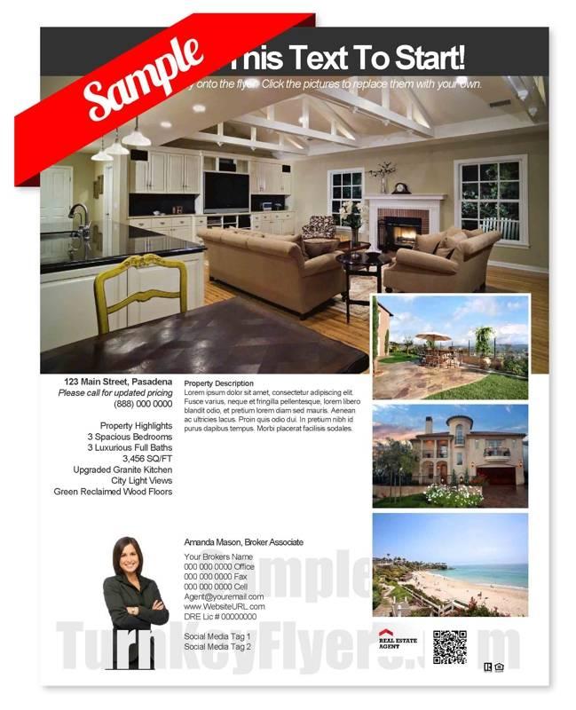 Real Estate Flyer Template Download