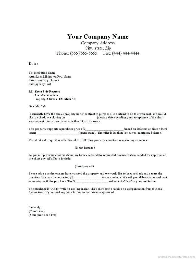 Real Estate Gift Letter Template