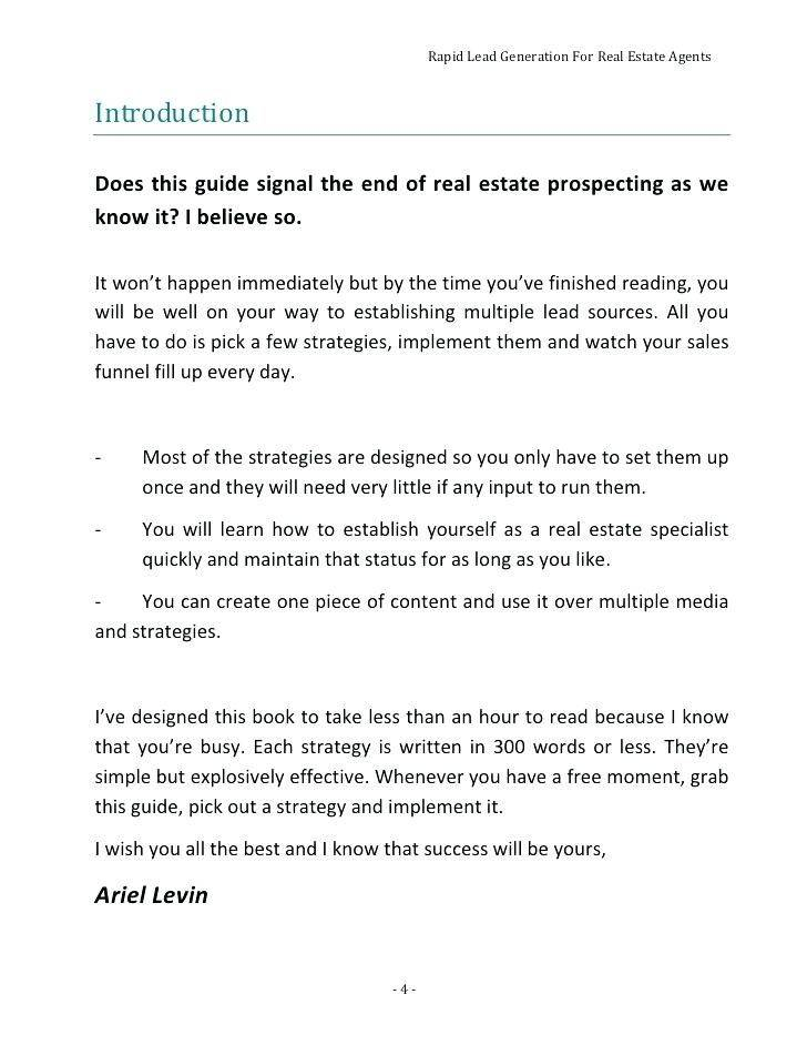 Real Estate Lease Proposal Template