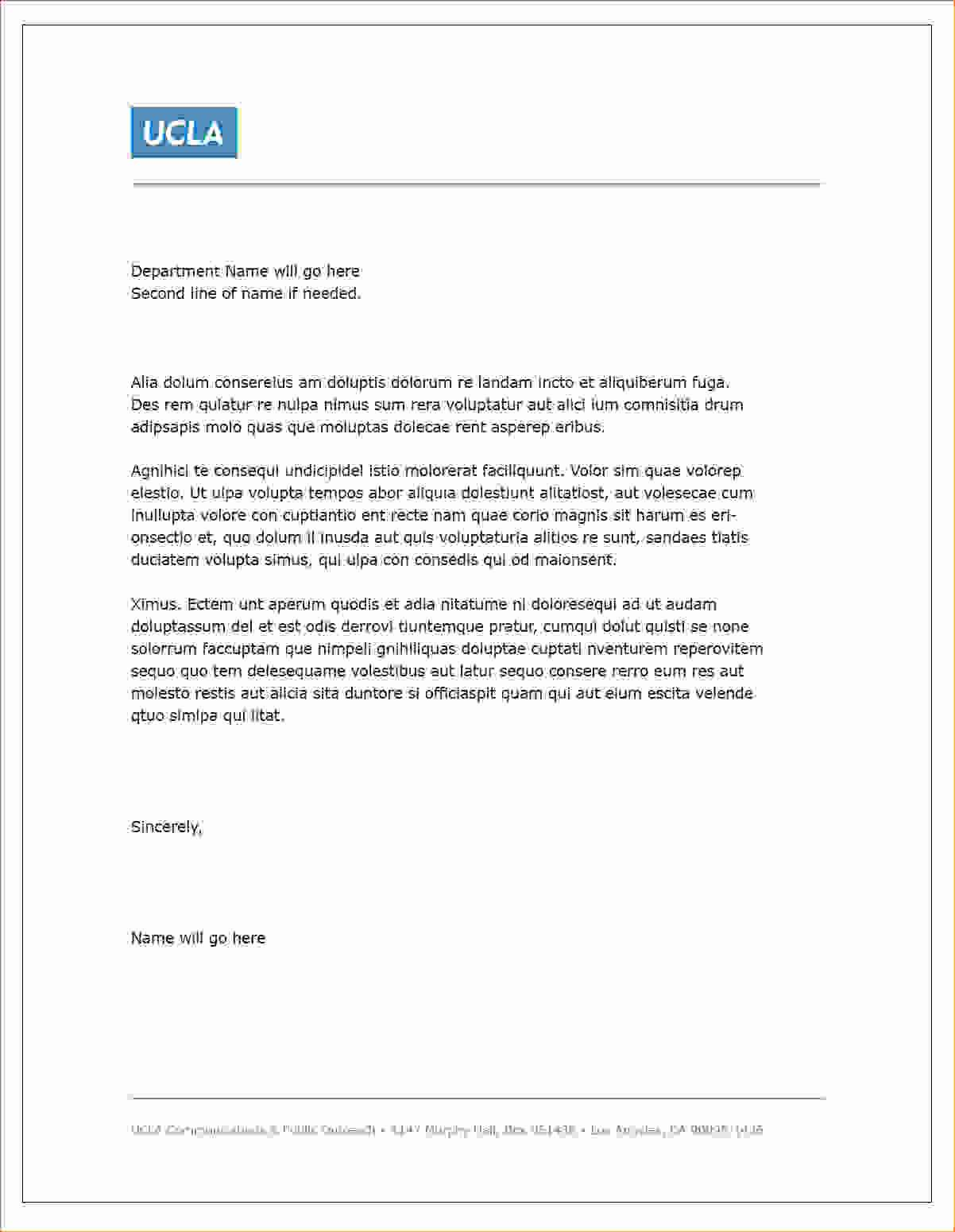 Real Estate Letterhead Templates Free Download