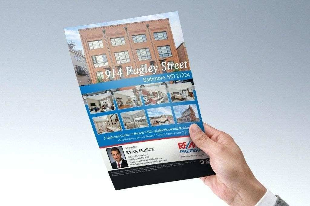 Real Estate Listing Template Word