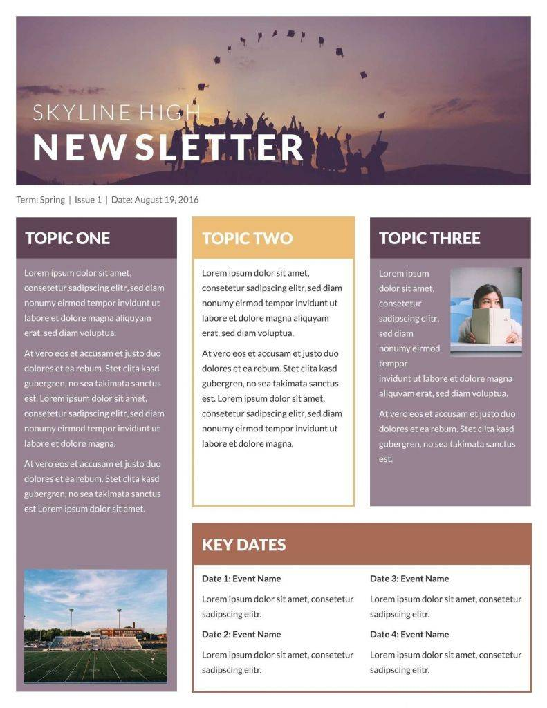 Real Estate Newsletter Templates Free Download