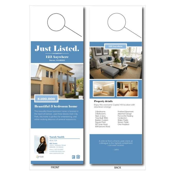 Real Estate Newspaper Advertising Templates