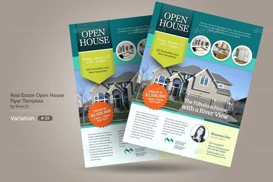 Real Estate Open House Announcement Wording