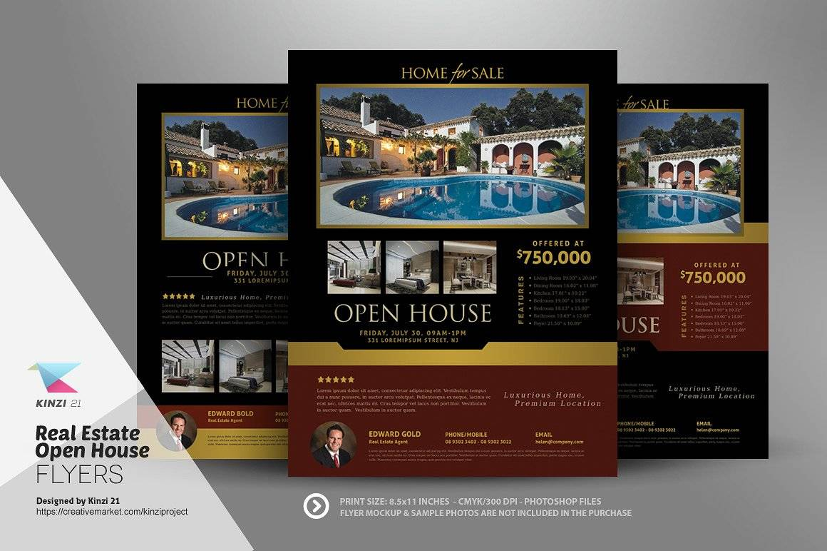 Real Estate Open House Flyer Templates Free