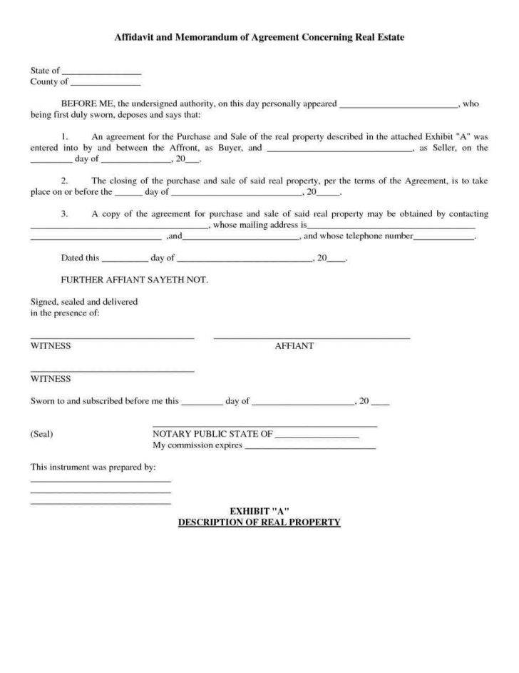 Real Estate Purchase Agreement Template Free
