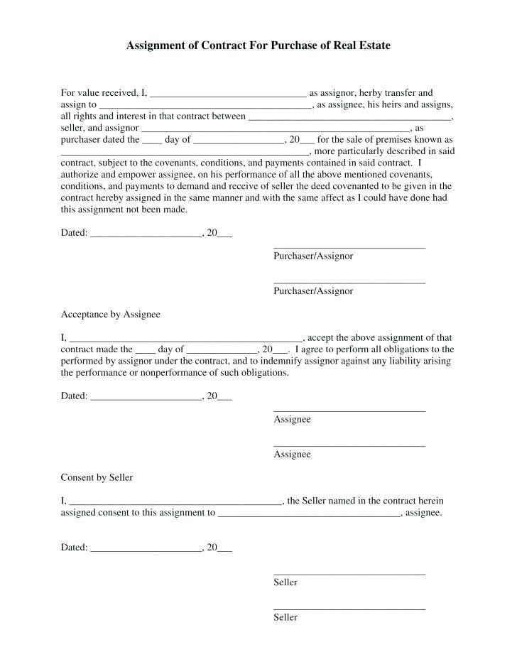 Real Estate Sales Contract Form Virginia