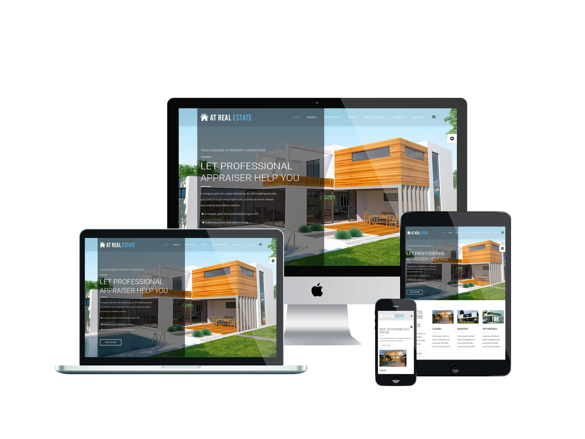 Real Estate Template Joomla 2.5 Free Download