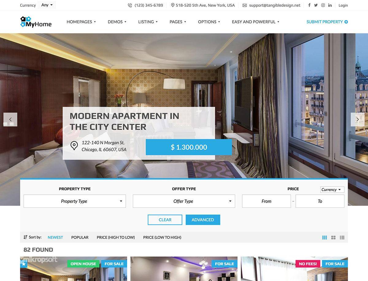 Real Estate Theme WordPress Nulled