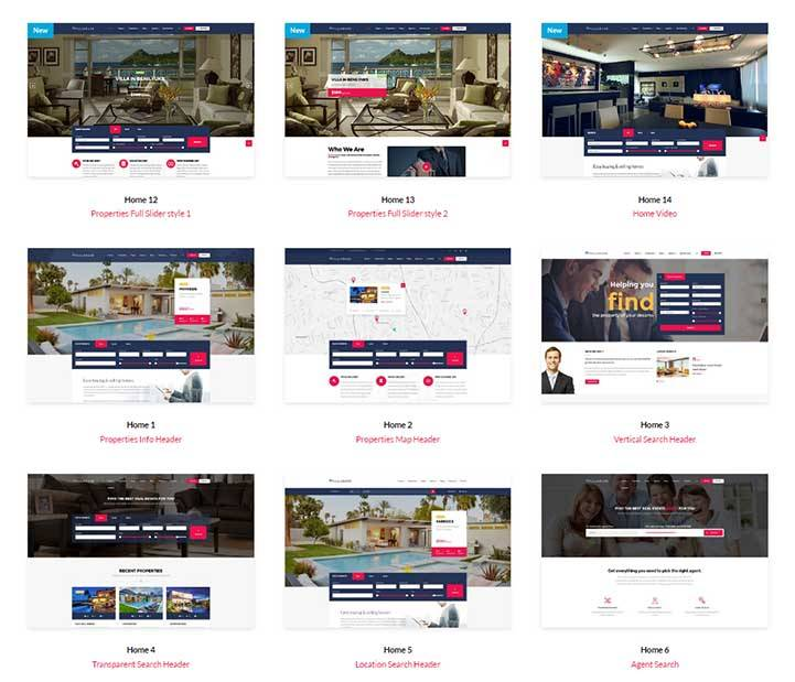 Real Estate WordPress Theme Download