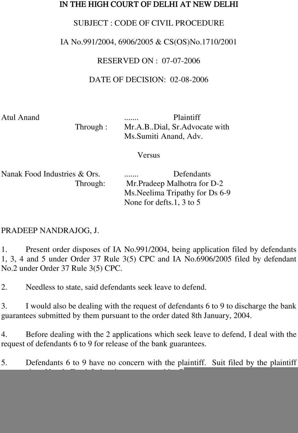Recall Petition Format Under Cpc