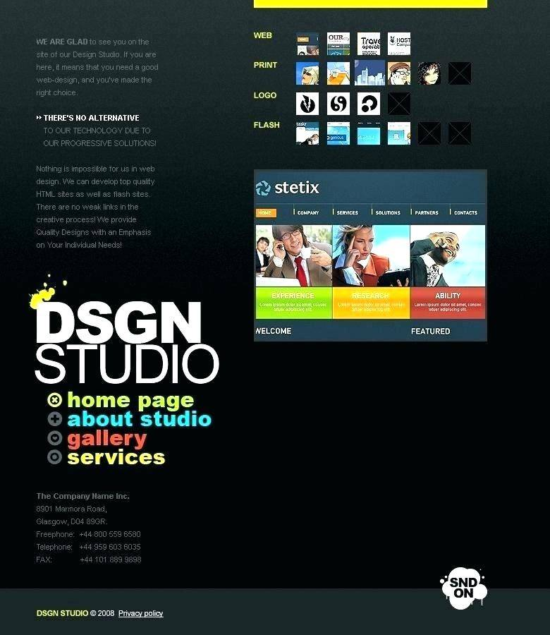 Recording Studio Website Template Free