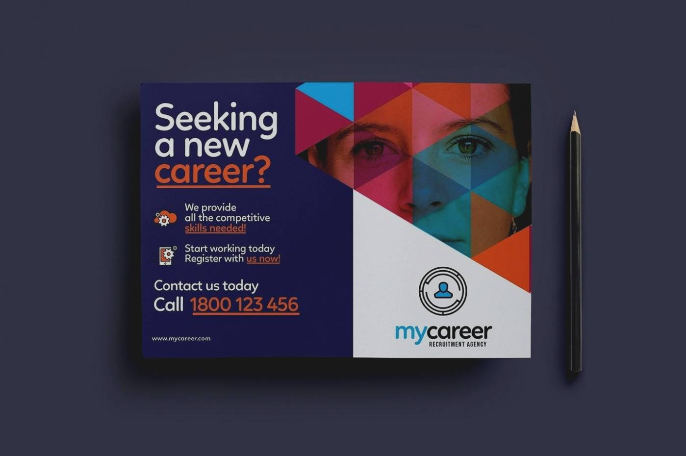 Recruiting Brochure Template