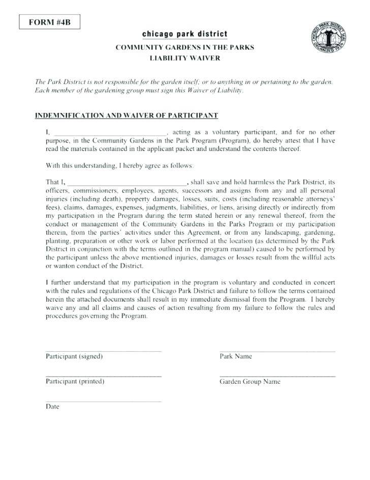 Release Waiver Agreement Template