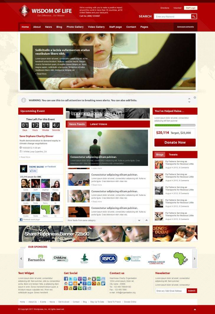 Religious Responsive Website Templates Free Download