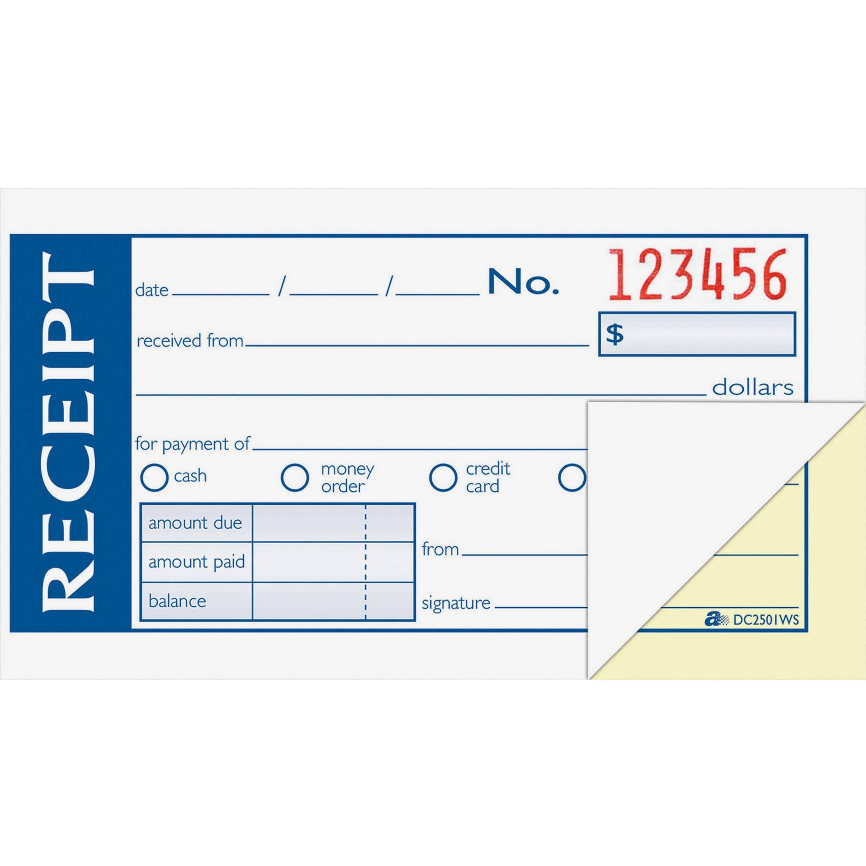 Rent Receipts Format In Excel