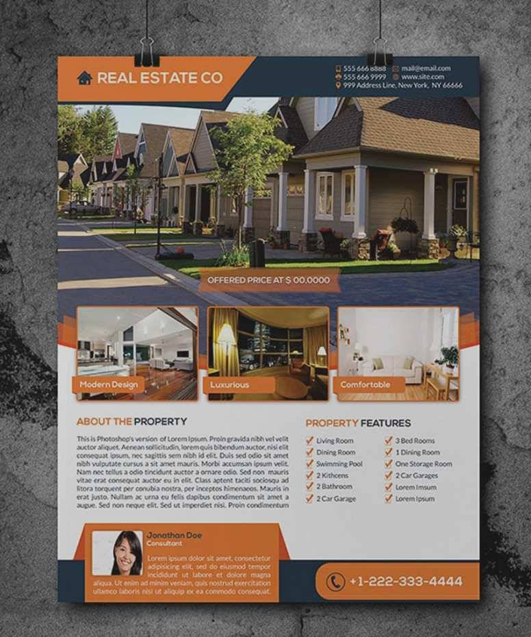 Rental Property Brochure Template