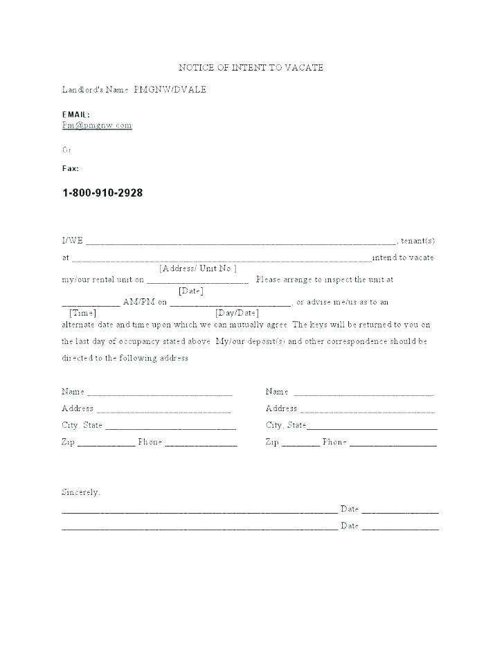 Rental Property Eviction Notice Template