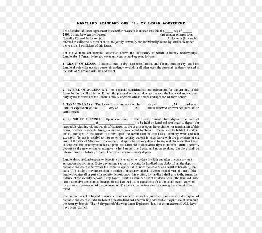 Renting Agreement Template
