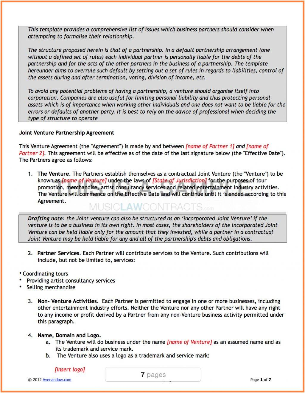 Resale Agreement Template