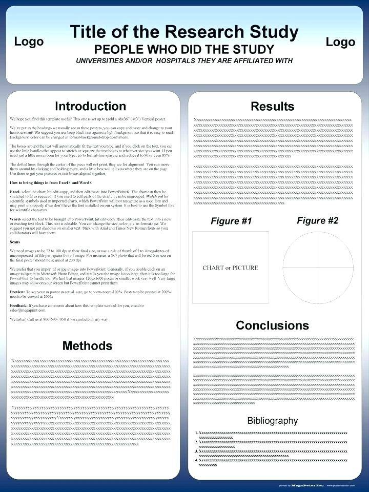Research Poster Templates Word