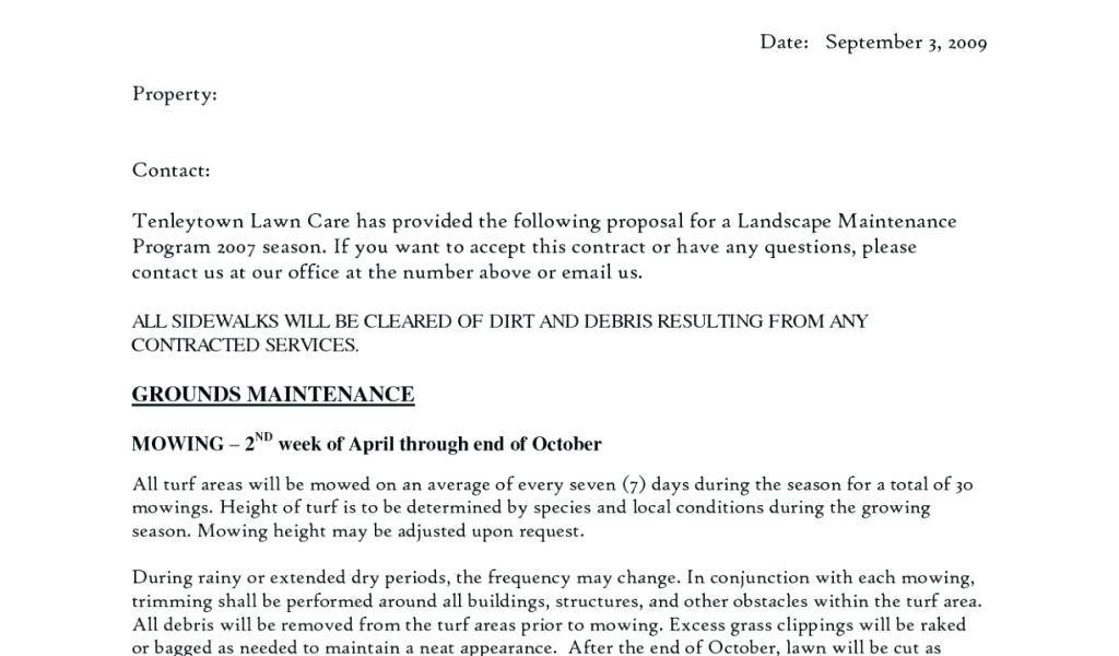Residential Cleaning Service Agreement Form