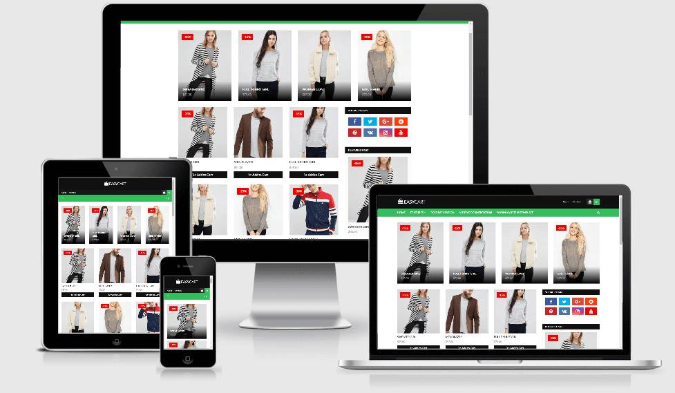 Responsive Ecommerce Blogger Templates