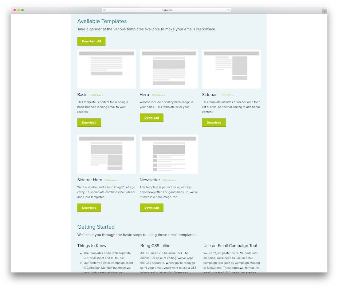 Responsive Email Template Outlook Free