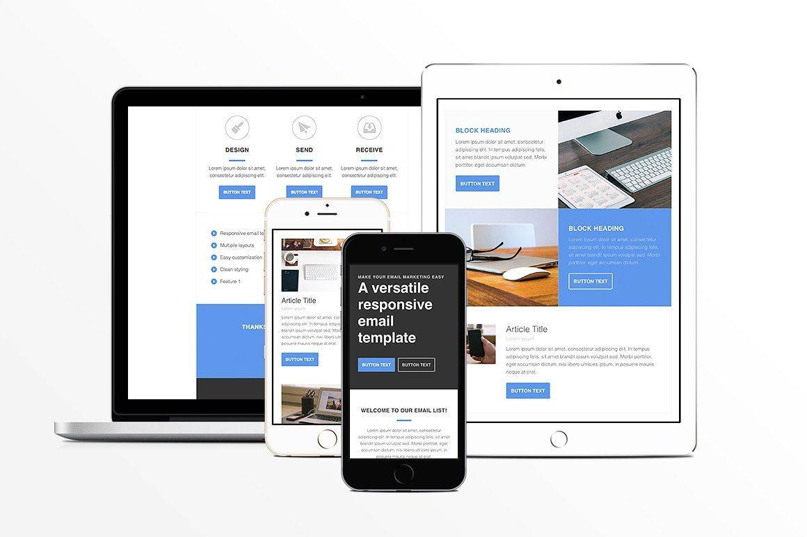 Responsive Html Emails Templates