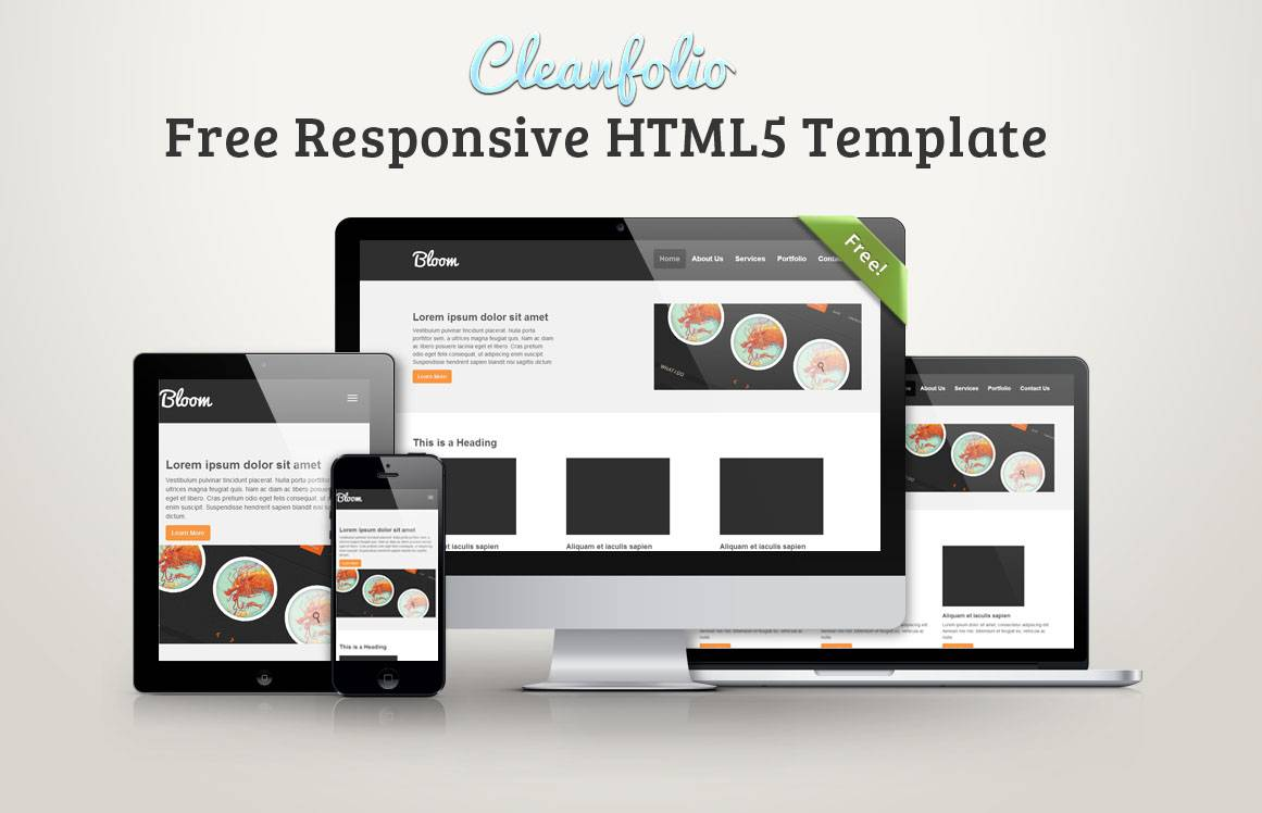 Responsive Templates Html5