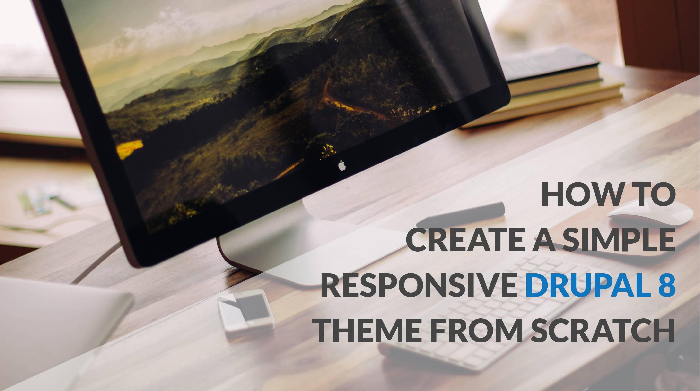 Responsive Theme Drupal 8