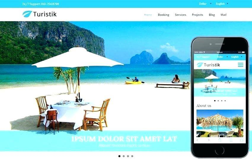 Responsive Tourism Website Templates Free Download