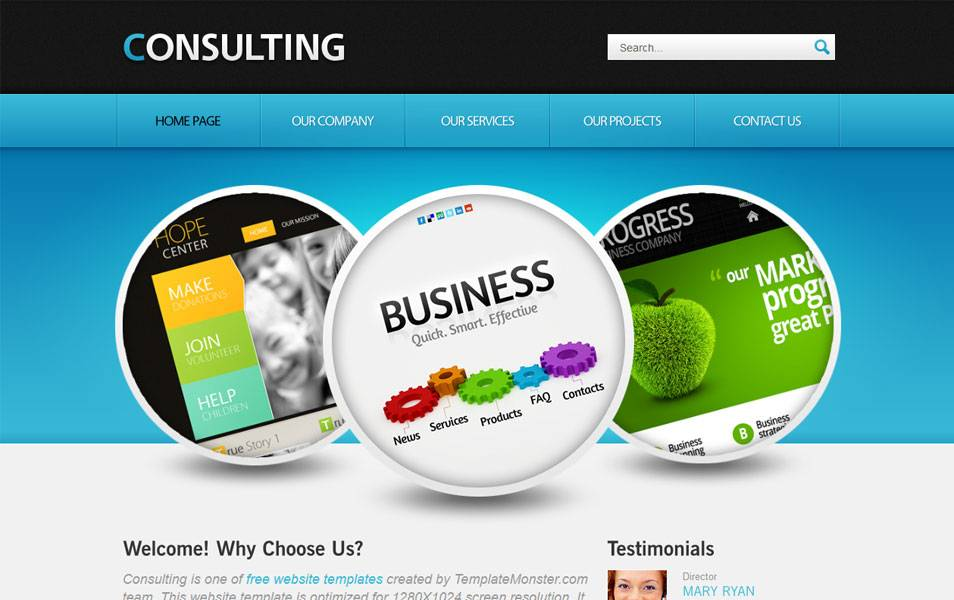 Responsive Website Templates Html5 With Css3