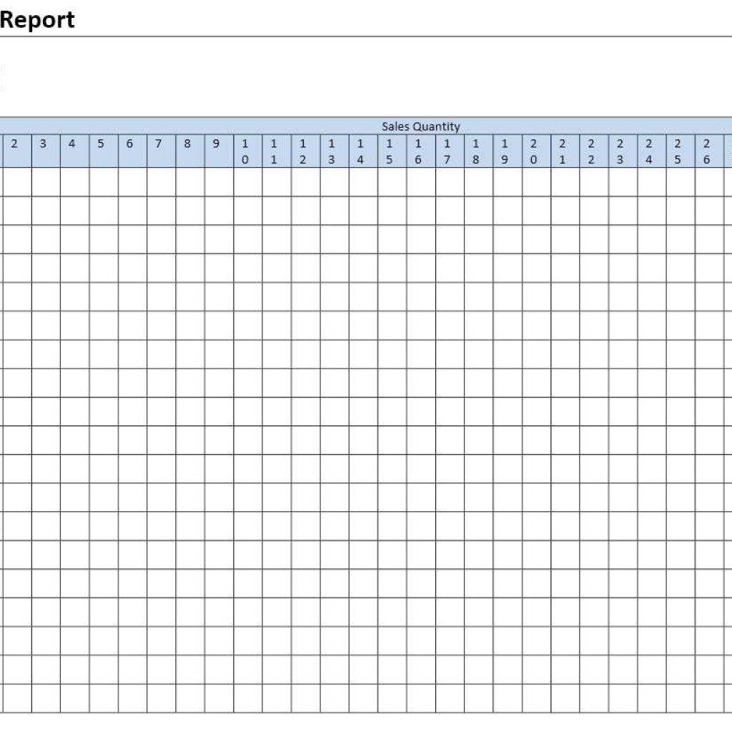 Restaurant Daily Sales Report Format In Excel Free Download