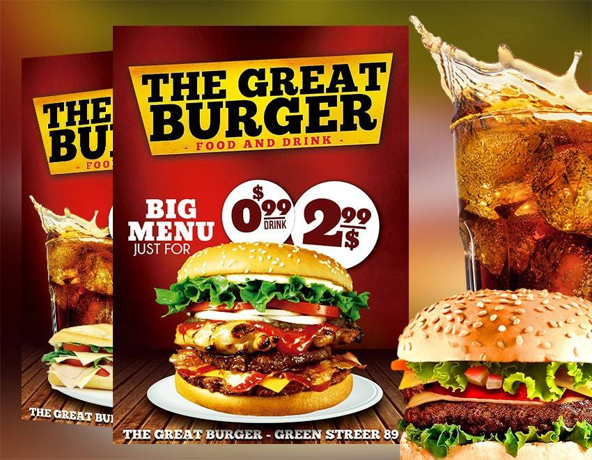Restaurant Flyers Templates Free Download