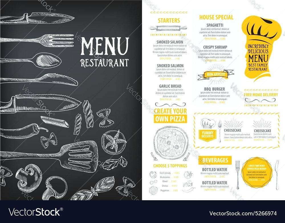 Restaurant Menu Design Templates Uk