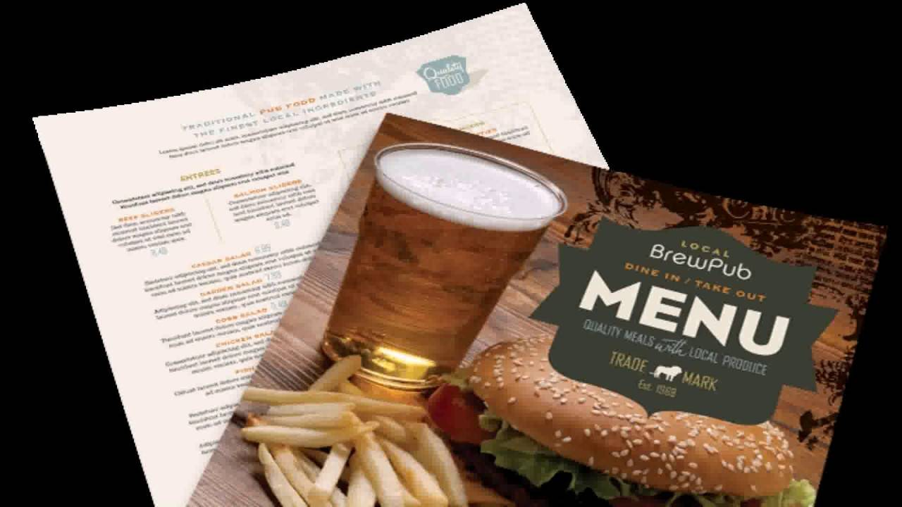 Restaurant Menu Templates Free Download Mac