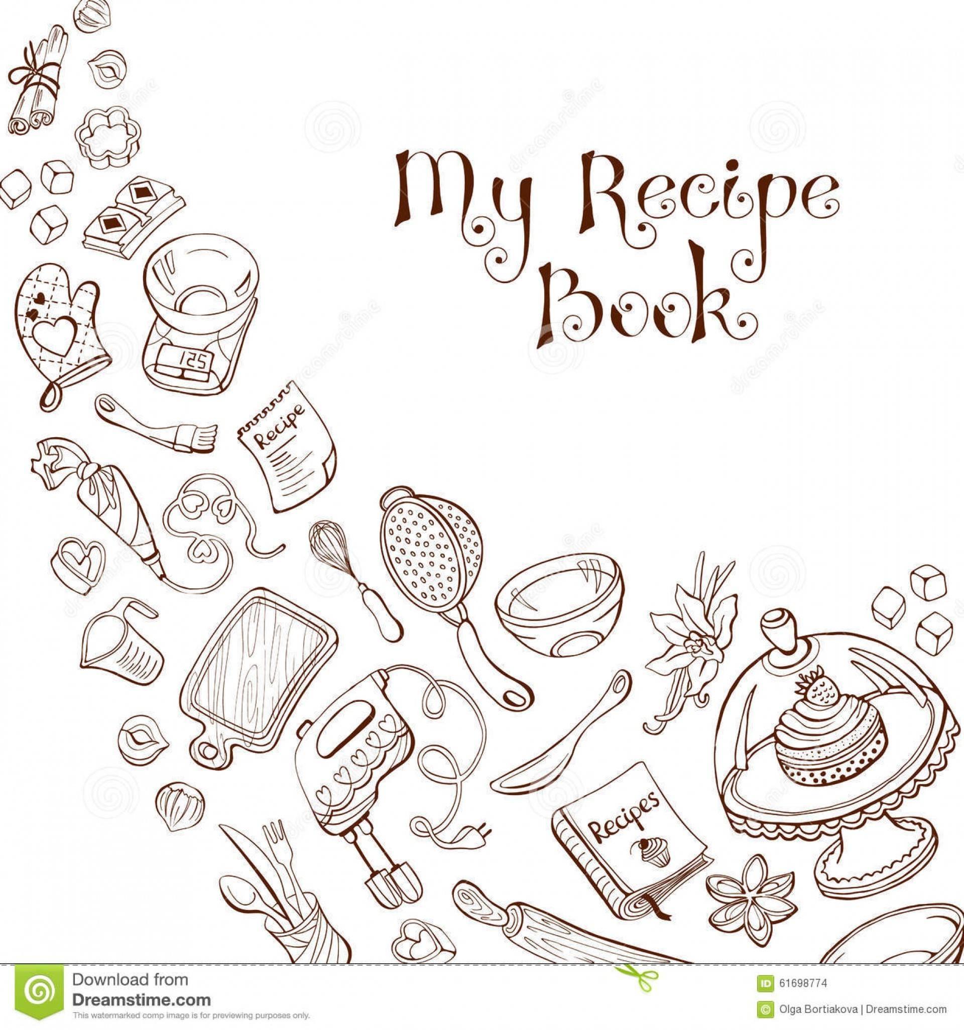Restaurant Recipe Book Template