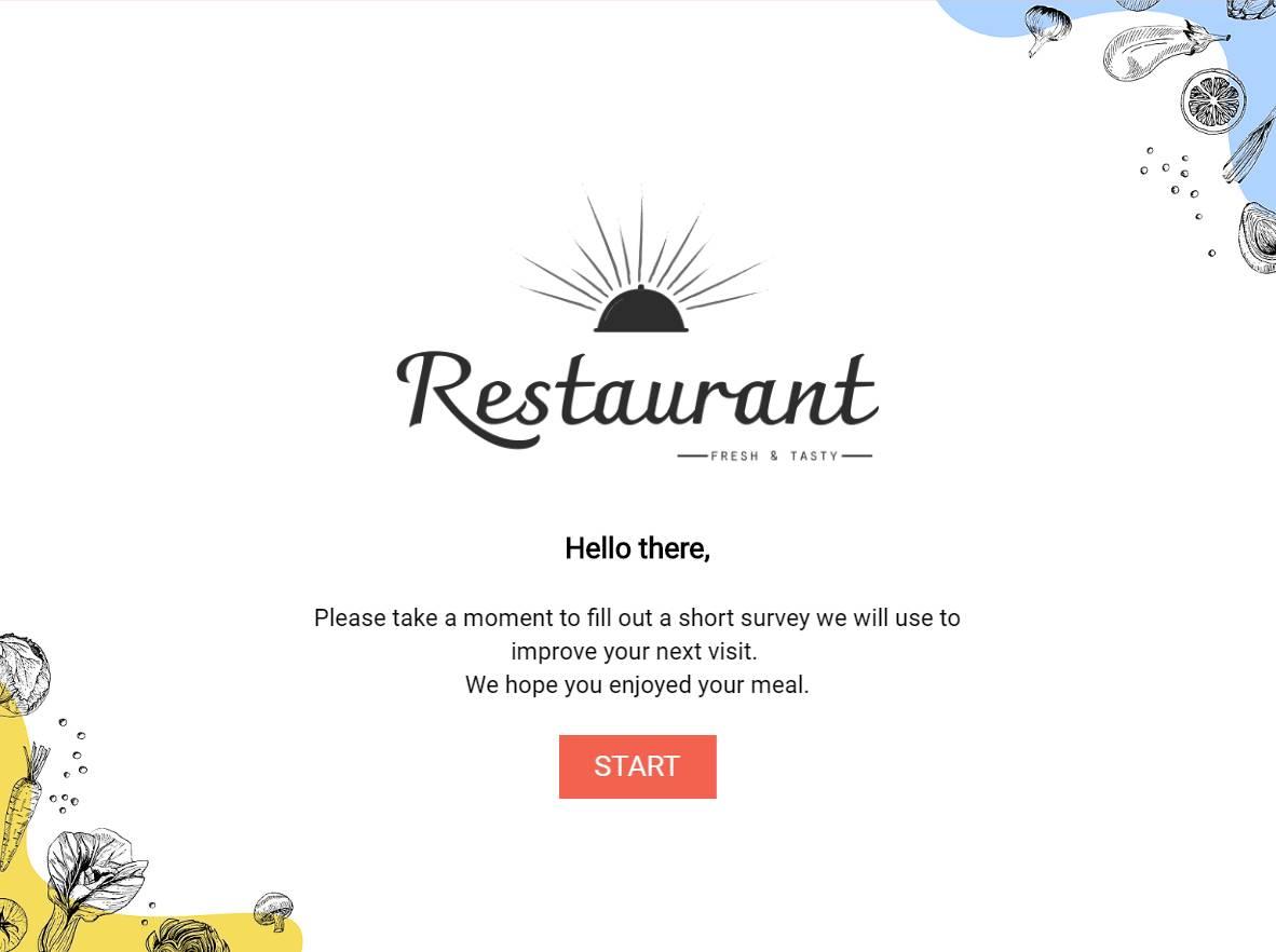 Restaurant Survey Template